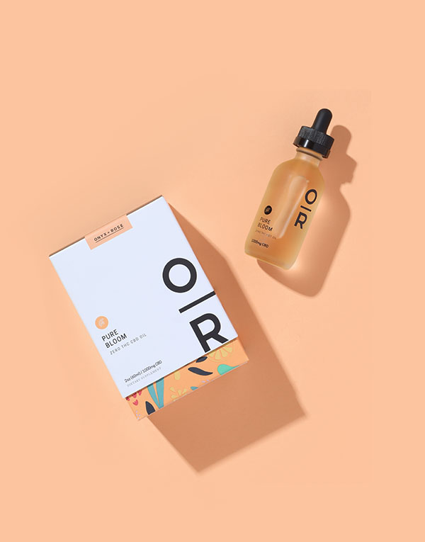 Pure Bloom Orange CBD Oil