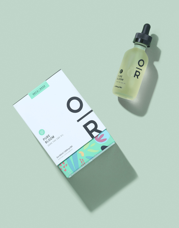 Pure Bloom Mint Bottle and Box