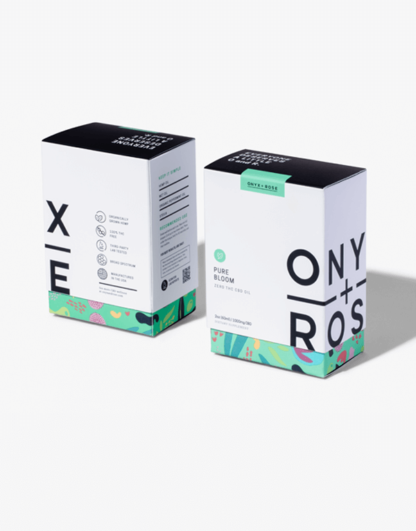 Pure Bloom Mint Boxes